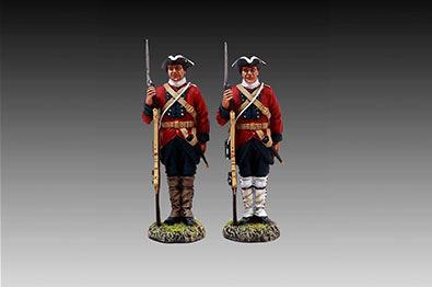 Thomas Gunn Miniatures - French and Indian War